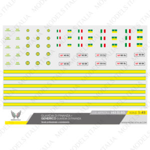decals generico guardia di finanza