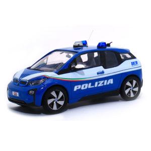modellino auto polizia BMW i3