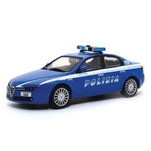 polizia locale modellini in scala