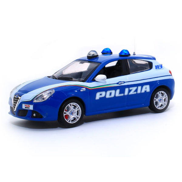 modellini polizia in scala