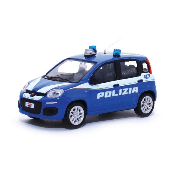 fiat panda modellino polizia