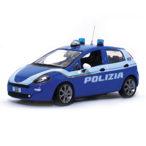modellino fiat punto polizia