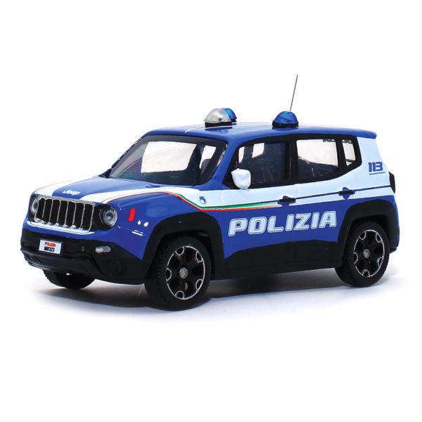 modellino polizia di stato