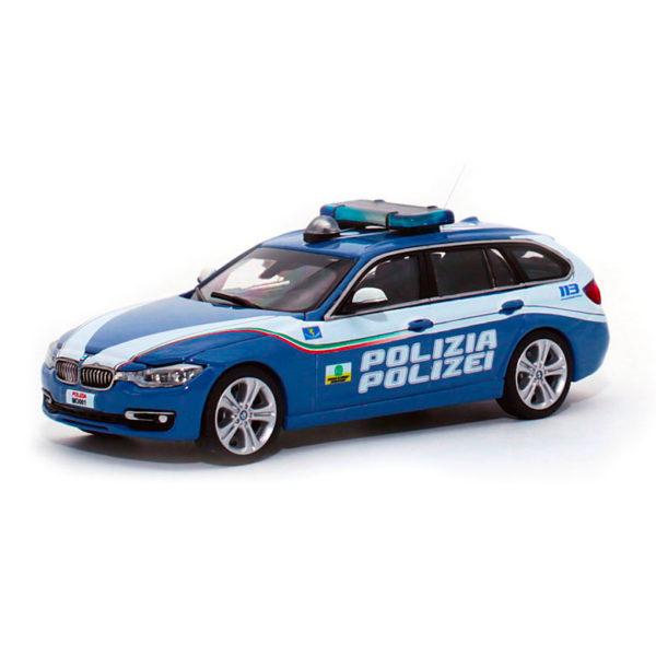 BMW bilingue modellini polizia