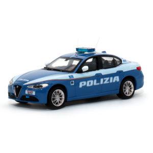 ala romeo Giulia modellini polizia