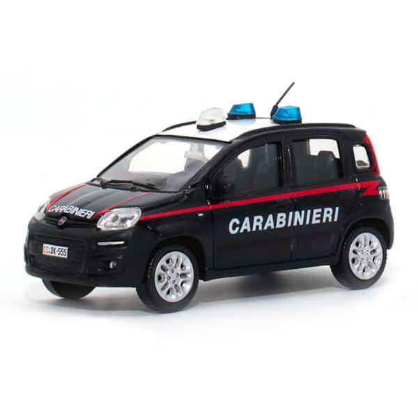 fiat panda carabinieri modellino