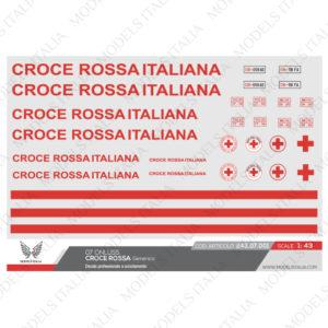 decals croce rossa