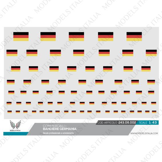decals bandiere Germania