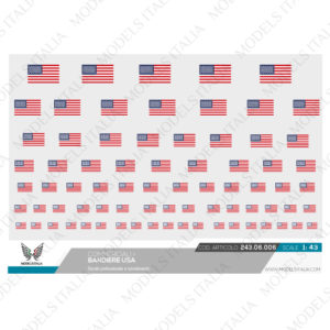 decals bandiere USA