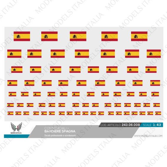 decals bandiere spagna