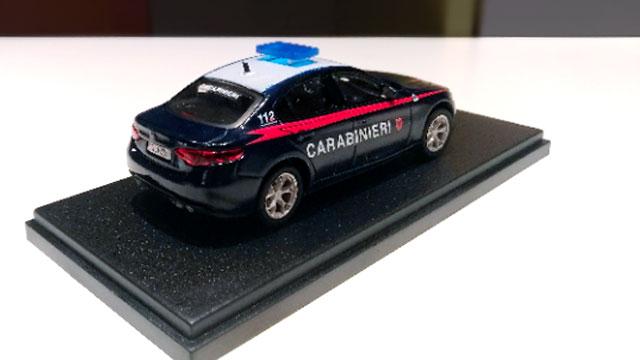 modellino carabinieri