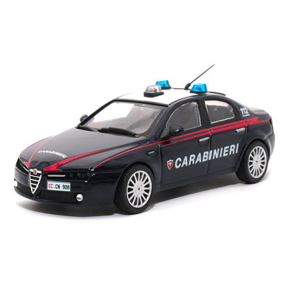 modellini in scala carabinieri milano