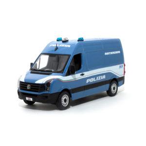 modellino polizia crafter