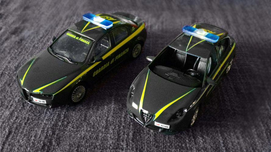 modellini polizia