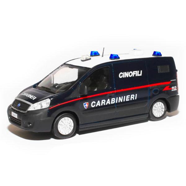 fiat scudo cinofili carabinieri