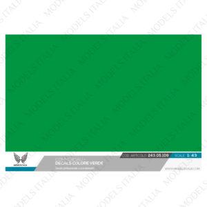 decals verde